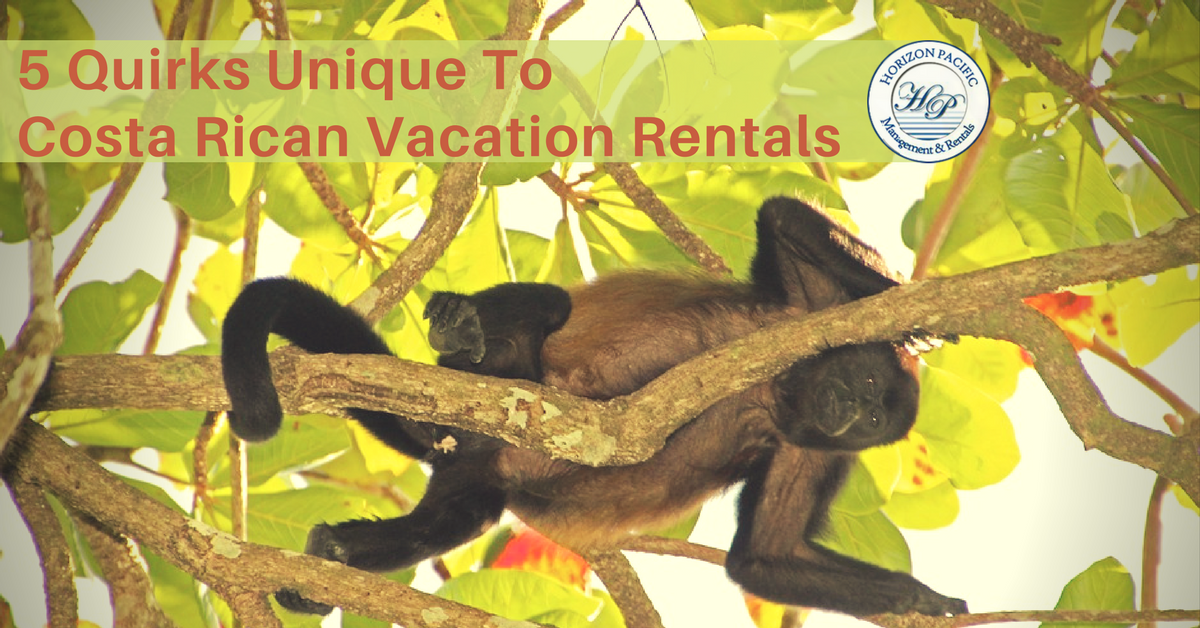 5 Quirks Unique To (Other) Costa Rica Vacation Rentals